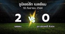 ผลบอล : เมเชเลน vs อุด-เฺฮเวอร์ลี ลิวเวน (จูบิแลร์ลีก เบลเยียม 2021-2022)