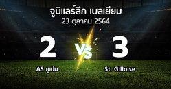 ผลบอล : AS ยูเปน vs St. Gilloise (จูบิแลร์ลีก เบลเยียม 2021-2022)