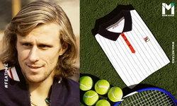 """""""FILA x บียอร์น บอร์ก"""" : การปฏิวัติแฟชั่นโดยแบรนด์ไม่ดังจับมือนักเทนนิสนอกคอก"""