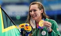 เงือกสาวชาวแอฟริกาใต้ คว้าเหรียญทอง พร้อมทำลายสถิติโลกกบ 200 เมตรหญิง