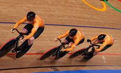 4 นักปั่นเนเธอร์แลนด์ ทำลายสถิติโอลิมปิก คว้าทองทีมสปรินต์ชาย