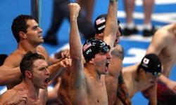 ปิดฉากว่ายน้ำสุดเดือด ทุบสถิติโลก,สถิติโอลิมปิกเพียบ