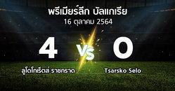 ผลบอล : ลูโดโกเร็ตส์ vs Tsarsko Selo (พรีเมียร์ลีก-บัลแกเรีย 2021-2022)