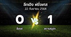 ผลบอล : ล็องส์ vs สตารส์บูร์ก (ลีกเอิง 2021-2022)
