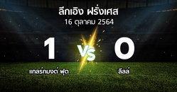 ผลบอล : แกลร์กมงต์ ฟุต vs ลีลล์ (ลีกเอิง 2021-2022)