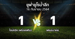 ผลบอล : แฟร้งค์เฟิร์ต vs เฟเนร์บาห์เช่ (ยูฟ่า ยูโรป้าลีก 2021-2022)