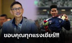 """""""จุตินันท์"""" ปธ.พาราลิมปิกไทย ชื่นชมผลงานนักกีฬาไทยคว้า 5 ทอง 5 เงิน 8 ทองแดง"""