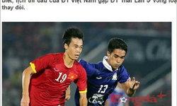 """สื่อเวียดนามตีข่าว """"ฟีฟ่า"""" ปฏิเสธเลื่อนเกม ไทย-เวียดนาม"""