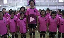 """""""น้องดรีม"""" นักตบลูกยางวัย 14 ปี สูง 198 ซม. ฝันอยากเล่นทีมชาติไทย (คลิป)"""