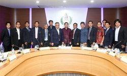 สมาคมฯ ร่วมประชุมกกท.หารือร่างโครงการสานฝันฟุตบอลไทยไปฟุตบอลโลก