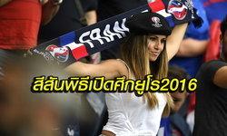 ประมวลภาพ! บรรยากาศพิธีเปิดฟุตบอลยูโร 2016