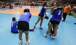 ประมวลภาพ! ตบสาวไทย พ่าย สาวยุ่น 2-3 ศึกคัดโอลิมปิก