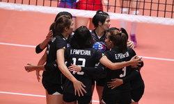"""ประเดิมสวย! """"สาวไทย"""" ตบชนะ """"เซอร์เบีย"""" 3-2 มองเทรอซ์ มาสเตอร์"""