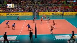 """คลิปสุดฟิน  """"สาวไทย"""" ตาม 0-2 พลิกกลับมาชนะ เนเธอร์แลนด์ แบบสุดระทึก 3-2 เซต"""