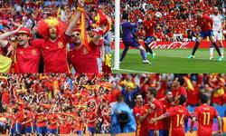ประมวลภาพสีสัน ฟุตบอลยูโร 2016 สเปน ชนะ เช็ก 1-0