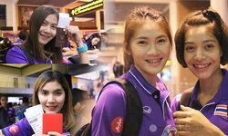 """""""ตบสาวไทย"""" ถึงเวียดนาม ฟิตซ้อมก่อนดวล """"ไต้หวัน"""" ศึกเอวีซี คัพ 2016"""