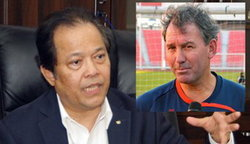 ร็อบสันลาออกทีมชาติไทยเรียบร้อย บังยีเผยอาจให้ ปีเตอร์ วิธ นั่งแท่นแทน