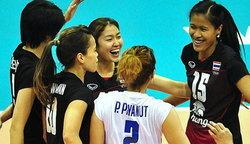 วอลเลย์บอลหญิงไทย ตบสาวเวียดนาม 3-0 เซต ศึกเอเชีย