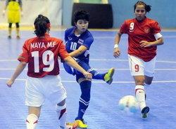 ฟุตซอลสาวไทยเปิดซีเกมส์โหดขยี้เจ้าภาพยับ8-0