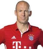 อาร์เยน ร็อบเบน (Bundesliga 2016-2017)