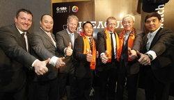แกรมมี่คว้าสิทธิ์ถ่ายทอดสด เจ-ลีก 5 ปี อากู๋ลั่นพร้อมสนับสนุนวงการลูกหนังเมืองไทย