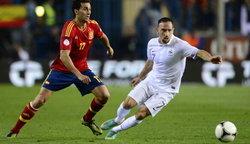 ผลบอล : สเปนชวดชัย! ชิรูด์โขกตราไก่ตีเจ๊าท้ายเกม 1-1