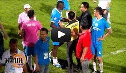 ฟุตบอล : ′ราชบุรี′ บุกเจ๊า ′ฮัลโหล′ 2-2 ลิ่วชิงฯ ′บุรีรัมย์′ เกมเดือด! มีมวยหมู่ท้ายเกม (ชมคลิป)