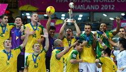 สุดยอด! บราซิลแชมป์ฟุตซอลโลก 2012
