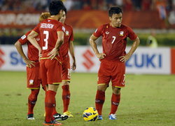 เศร้า!แข้งไทยเฉือนสิงคโปร์1-0พลาดแชมป์ซูซูกิคัพ2012