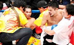 เทพฤทธิ์ สุดช้ำแพ้น็อกโคโนะยก 4 เสียแชมป์โลกWBA