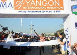 พม่าจัดแข่งมาราธอนนานาชาติหนแรกในปท.