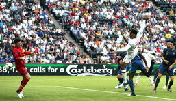ฝรั่งเศส  ไล่เจ๊า อังกฤษ 1-1 บอลยูโรกลุ่ม ดี