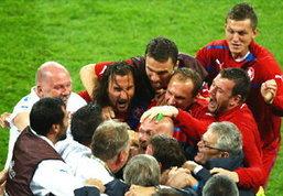ประมวลภาพ เช็ก ชนะ โปแลนด์ 1-0