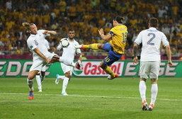 ประมวลภาพ สวีเดน ชนะ ฝรั่งเศส 2-0