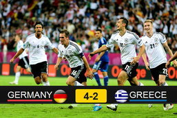 ประมวลภาพ เยอรมัน ชนะ กรีซ 4-2