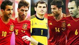 5 แข้งสเปนที่ดีที่สุดในยูโร 2012