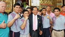 ความหวังของคนไทย แบกไว้ด้วย 3 กำปั้น