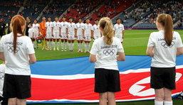ฝ่ายจัดอลป.ขอโทษเกาหลีเหนือขึ้นธงผิด