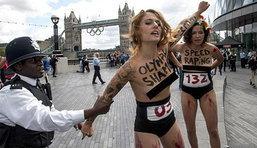 เฟเมนแผลงฤทธิ์ป่วน ลอนดอนเกมส์