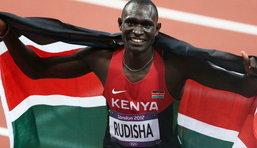 ปธ.จัดลอนดอนเกมส์ ชมยอดนักวิ่งเคนย่าทำลายสถิติโลกวิ่ง 800 ม.