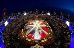 ประมวลภาพ พิธีปิดโอลิมปิก 2012