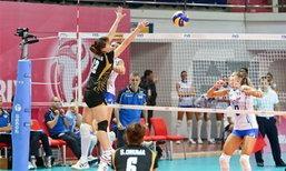 วอลเลย์สาวไทยสู้สุดฤทธิ์แพ้อิตาลี0-3ศึกเวิลด์ กรังด์ ปรีซ์ 2013