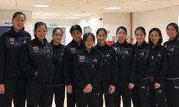 """ลิ่วชิงทอง! """"ขนไก่ทีมหญิง"""" คว่ำ """"สิงคโปร์"""" 3-0 ทะลุชนเจ้าภาพ"""