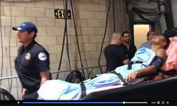 """คลิปหลุด """"โรมัน กอนซาเลซ"""" ถูกหามส่งโรงพยาบาลเพื่อเช็กสมอง"""