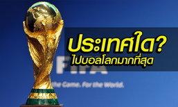 ขาประจำ ! 9 ประเทศที่ได้เข้าร่วมฟุตบอลโลกมากที่สุด