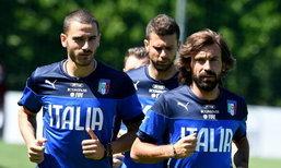 บรรยากาศการซ้อมล่าสุดของทีมชาติอิตาลี