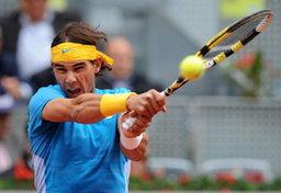 นาดาลชนะนักเทนนิสยูเครน มาดริด โอเพ่น