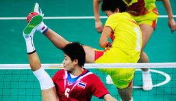 ตะกร้อสาวไทยสุดยอด คว้าทองเอเชี่ยนเกมส์