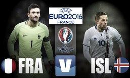 """วิเคราะห์ฟุตบอลยูโร 2016 รอบ 8 ทีมสุดท้าย """"ฝรั่งเศส - ไอซ์แลนด์"""""""