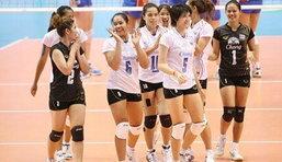 สาวไทยตบสาวเวียดนาม3-0 ผงาดเข้าชิงเอเชี่ยน คัพ 2012